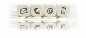 cabecera de la página de contacto